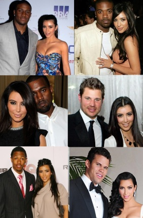 Kim K and her men